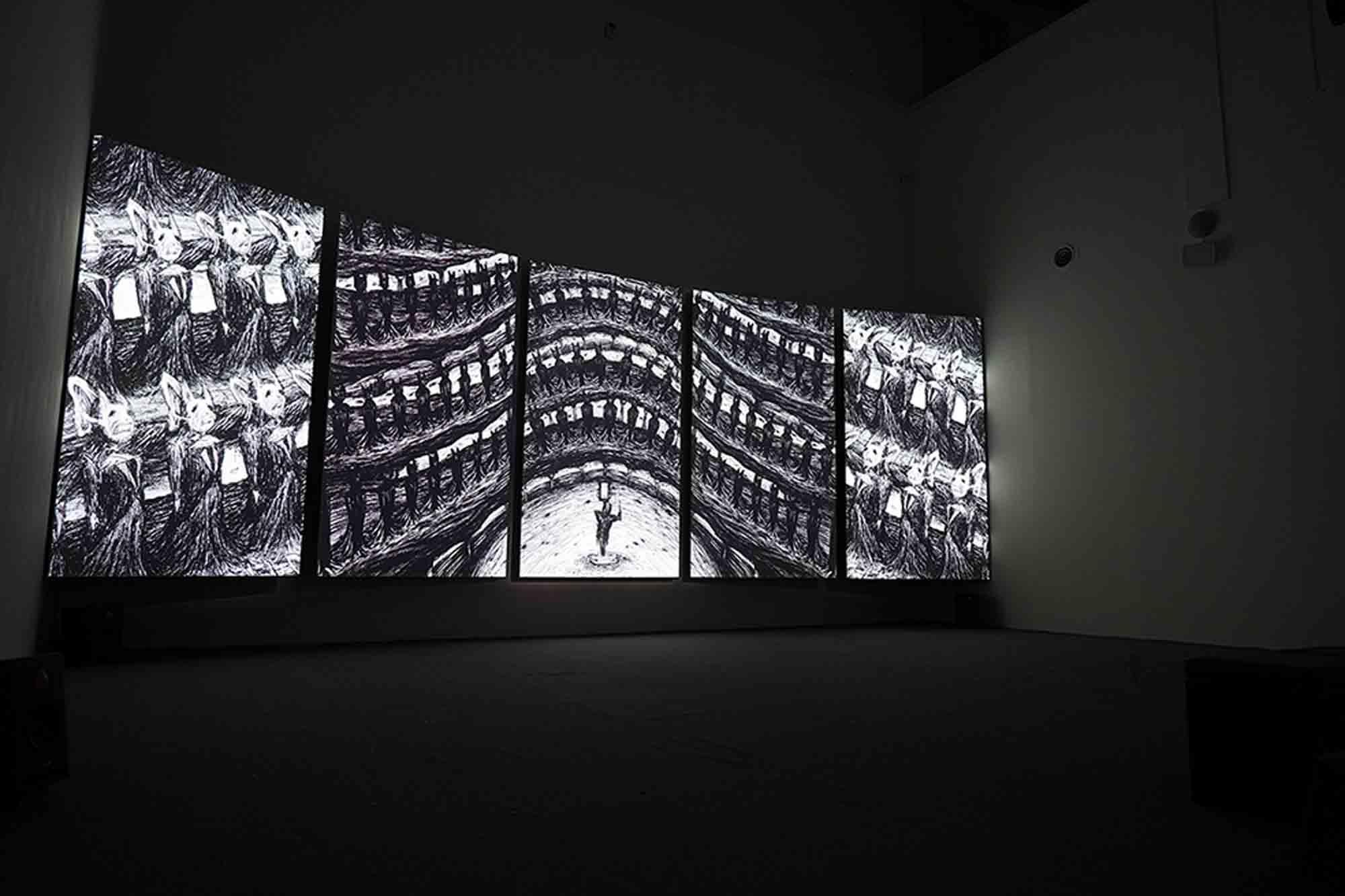 展場攝影,擷取自台灣美術雙年展網站